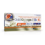 Омега Olimp Labs - Gold Omega 3 D3+K2 1000 мг 30 caps.