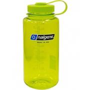 Бутылка для воды Nalgene - Wide Mouth (400 мл) [Зеленая, зеленая крышка]