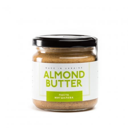 Миндальная паста Peanut Butter - Almond Butter Миндальная (200 грамм)