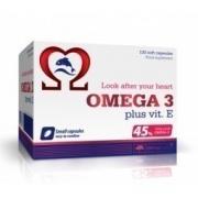 Omega 3 plus wit. E Olimp Labs 120 caps.