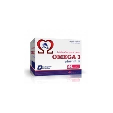 Омега Olimp Labs - Omega 3 45% plus vit. E (120 капсул)