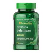 Селен Puritan's Pride - Selenium 200 мкг (250 таблеток)