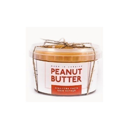 Арахисовая паста Изюм-Корица 300 грамм