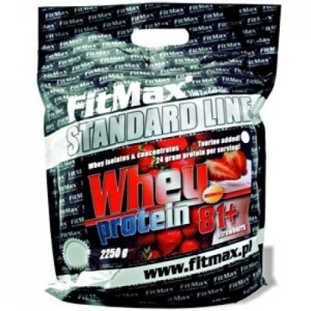 Whey Protein 81+ FitMax 2250 грамм