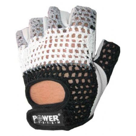 Power System Basic PS-2100 White/Black перчатки для спортзала