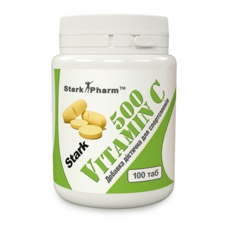 Vitamin C 500 мг 1 таб Stark Pharm (аскорбиновая кислота, витамин С)
