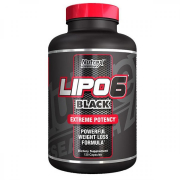 Lipo 6 Black Extreme Potency Nutrex Research 120 caps.