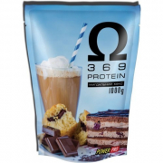 Сывороточный протеин Power Pro - Omega 3 6 9 Protein (1000 г) миндальный кекс