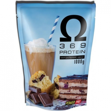 Сывороточный протеин Power Pro - Omega 3 6 9 Protein (1000 грамм)