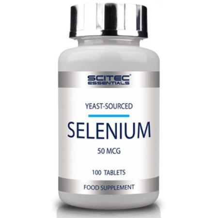 Витамины и минералы Scitec Nutrition - Selenium (100 таблеток)