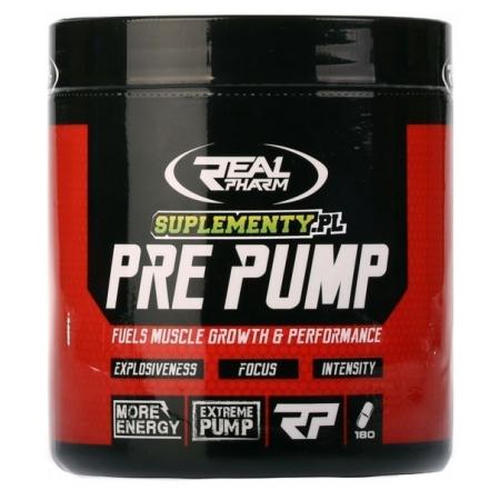 Real Pharm Pre Pump - 180 tabs.
