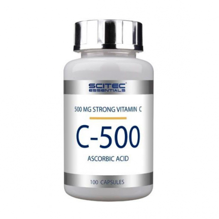 Scitec Nutrition - Vitamin C-500 (100 капс)