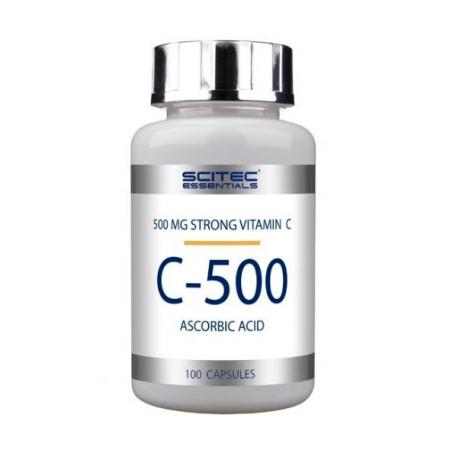 Витамины Scitec Nutrition - Vitamin C-500 (100 капсул)