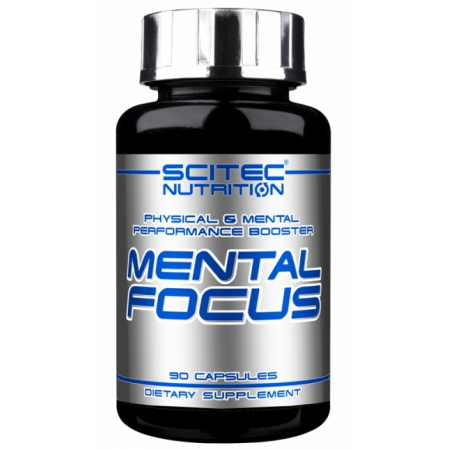 Mental Focus Scitec Nutrition 90 caps.