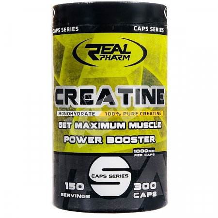 Creatine Monohydrate Real Pharm 300 caps.