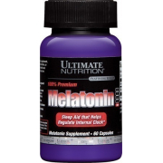 Мелатонин Ultimate Nutrition - Melatonin (60 капсул)