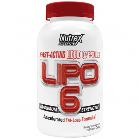 Lipo 6 Nutrex Research 240 liquid-caps.