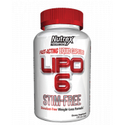 Nutrex Research - Lipo-6 Stim-Free (120 капс)