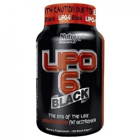 Lipo 6 Black Nutrex Research 120 caps.