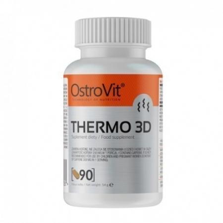 Жиросжигатель OstroVit - Thermo 3D (90 таблеток)