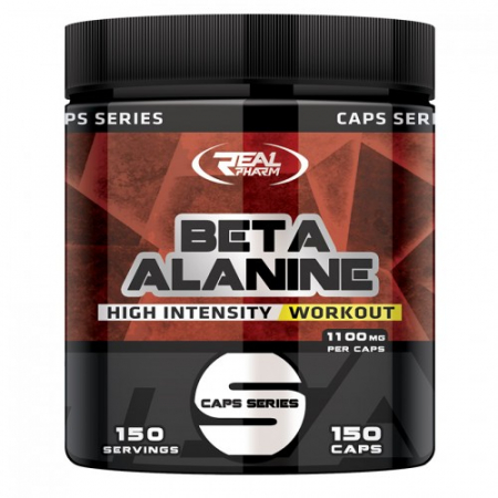 Beta Alanine Real Pharm 1100 mg 150 caps.