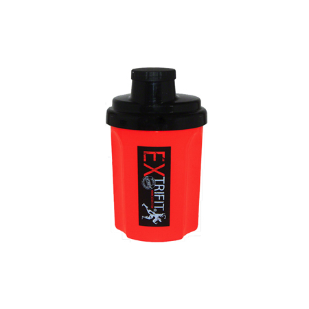 Шейкер EXtrifit (300 мл) [красный с черной крышкой]
