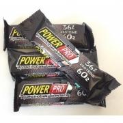 Протеиновый батончик 36% брют Power Pro 60 грамм