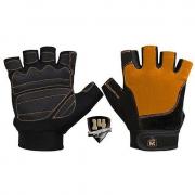 Перчатки кожаные Superior 14 [оранжево-черное]