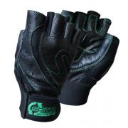 Перчатки кожаные Scitec Nutrition - Green Style