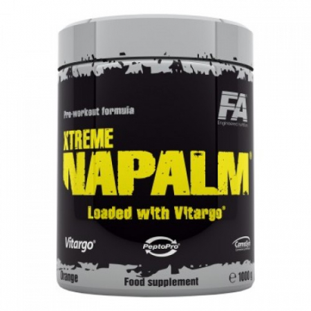 Napalm Xtreme loaded with Vitargo Fitness Authority 1000 грамм
