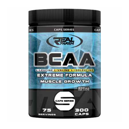 BCAA Real Pharm 300 caps.