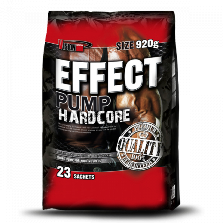 Effect Pump Hardcore Vision Nutrition (40 грамм) 1 пакет