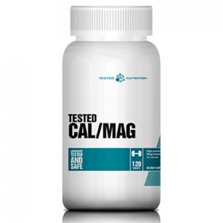Минеральный комплекс Tested Nutrition - Calcium & Magnesium (120 таблеток)