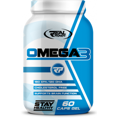 Omega 3 Real Pharm 60 caps.