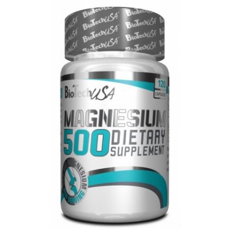 Магний BioTech - Natural Magnesium 500 (120 капсул)