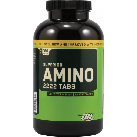 Superior Amino 2222 Optimum Nutrition 160 tabs.