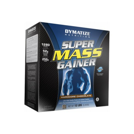 Super Mass Gainer Dymatize Nutrition 5450 грамм (гейнер)