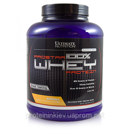 Супер-цена 100% Prostar Whey Ultimate Nutrition 2,39 кг ***