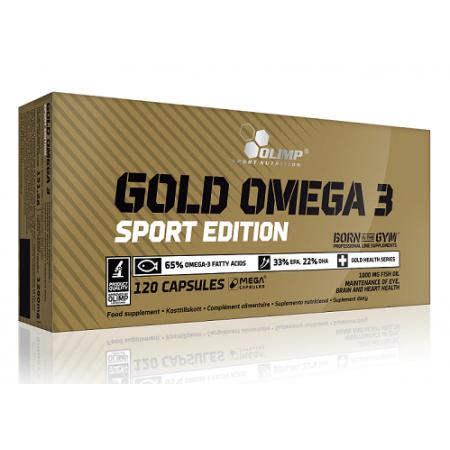 Омега Olimp Labs - Gold Omega 3 Sport Edition (120 капсул)