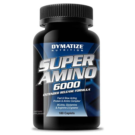 Super Amino 6000 Dymatize Nutrition 180 caps.