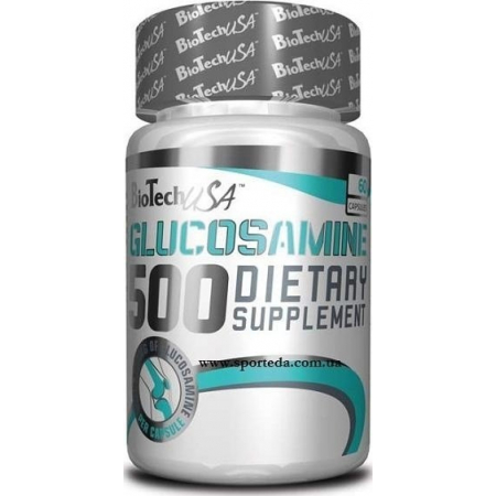 Глюкозамин BioTech - Glucosamine 500 мг (60 капсул)