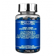 Аргинин Scitec Nutrition - Mega Arginine (90 капсул)