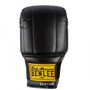 Перчатки снарядные Benlee Rocky Marciano - Boston 199052 (12oz) (Винил) [black-red/черно-красные] [L]
