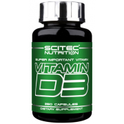 Витамин Scitec Nutrition - Vitamin D3 (250 капсул)