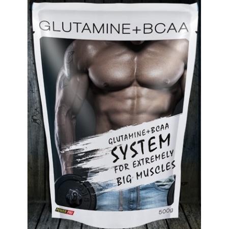 Глютамин Power Pro - Glutamine+BCAA (500 грамм)