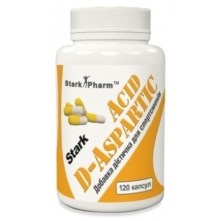 D-Аспарагиновая кислота Stark Pharm - D-Aspartic 500 мг (120 капс)