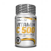 BioTech - Vitamin C 500 (120 таб) [strawberry, orange, blueberry/клубника, апельсин, голубика] (п 1 таб)