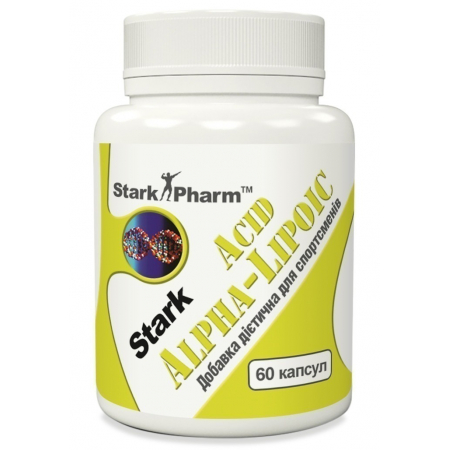 (ПРОБНИК) Антиоксидант Stark Pharm - Alpha Lipoic Acid (ALA) 600 мг (1 таблетка)