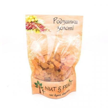 Сухофрукты Nut&Fruit - Изюм золотой 150 грамм