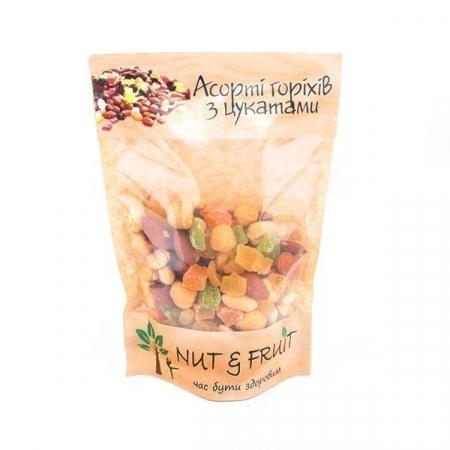 Ассорти Nut&Fruit - Ассорти орехов с цукатами 80 грамм
